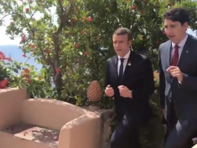 Una trascrizione di cosa Trudeau e Macron probabilmente si dicevano sulla loro passeggiata intima attraverso la Sicilia