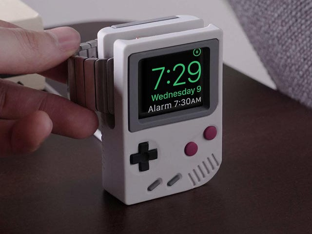 El soporte de la Game Boy para el Apple Watch que siempre quisiste y que no sabías que existía cuesta $12
