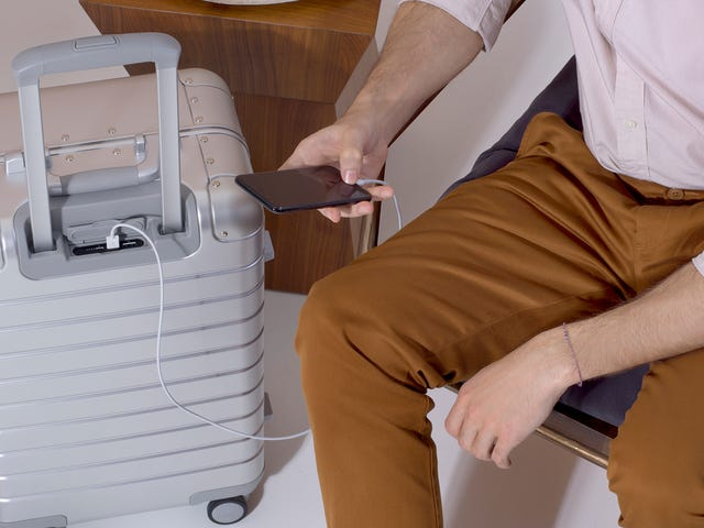 Away's New Suitcases Are So Metal