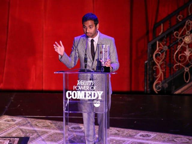 Aziz Ansari kaller Rupert Murdoch et racistisk stykke skit på Twitter