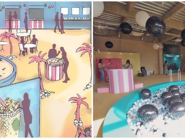 Tokyo mở một khu vui chơi dành riêng cho ... Trà bong bóng