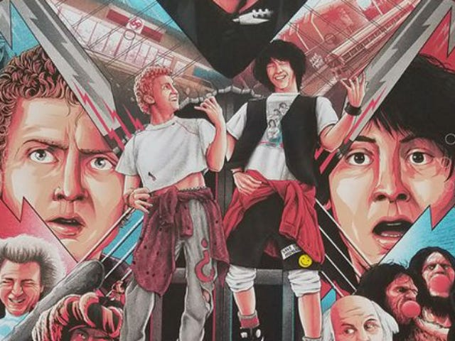 This New Bill and Ted Poster Is Truly Excellent