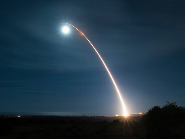 U.S. Space Force Conducts Its First Nuclear-Capable Missile Test