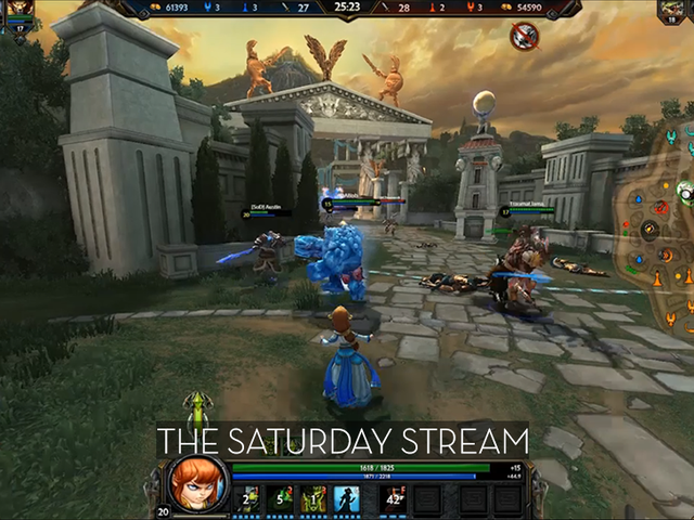 The Saturday Stream Attempts To Play <i>Smite (All Done)</i>