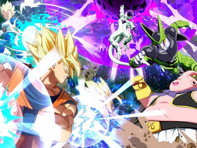 One Rule For The Dragon Ball FighterZ Championship Is The Most Dragon Ball Thing Ever
