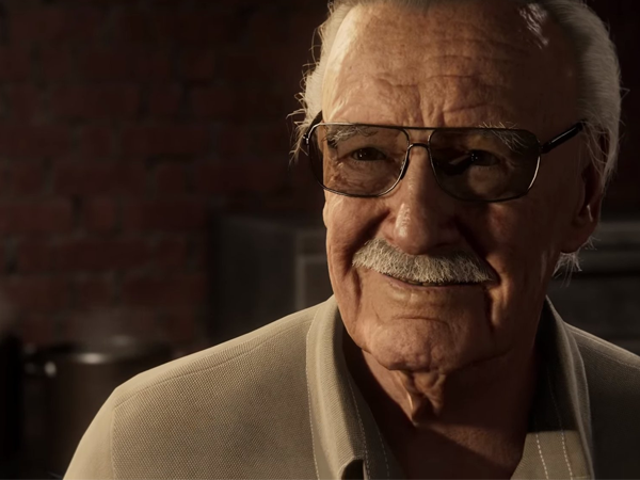 Stan Lee's Spider-Man PS4 Cameo Is So Quintessentially Stan Lee