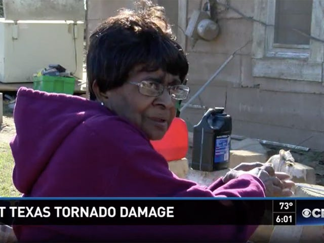 75-Year-Old Texas Woman Flies Through Tornado in Bathtub, Lands in Woods Unharmed