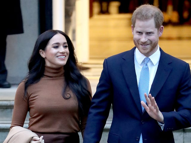Harry & Meghan Continue to Be the Good Royals