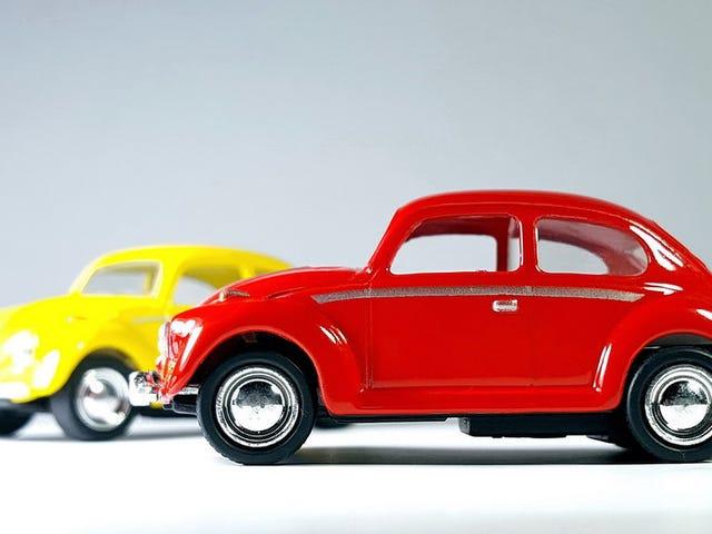 A pair of Beetles