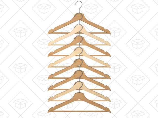 Your Pick For the Best Clothes Hangers: IKEA BUMERANG