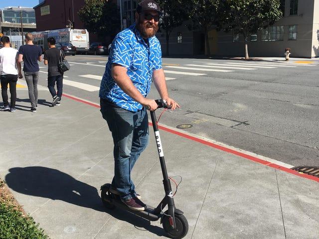 Olen kokeillut San Franciscon sähkökeskusta Jaa ja se oli painajainen