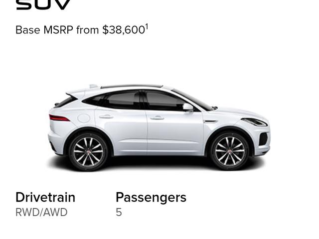 Jaguar USA Can't Believe It's Not RWD