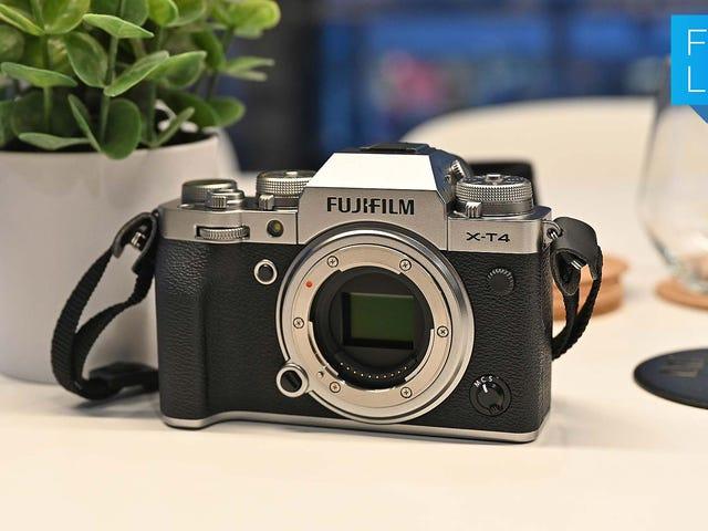 Con la Fujifilm X-T4, una de las mejores cámaras sin espejo APS-C es aún mejor