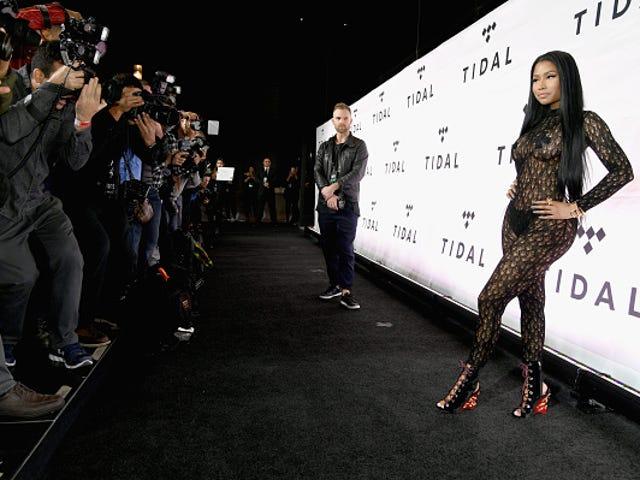 Nicki Minaj Signs Major Modeling Contract With Wilhelmina