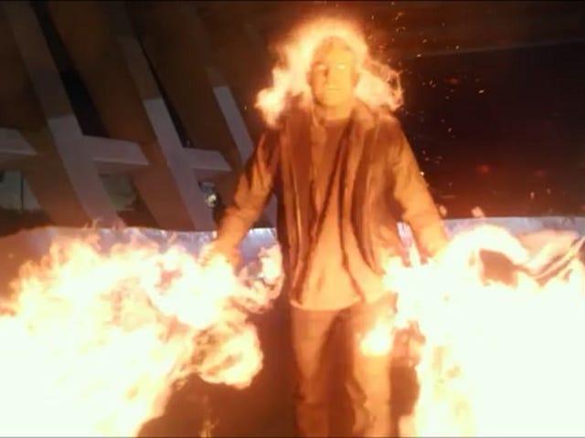 Firestorm The Flash 불에 붙이기 때문에 Heat Puns를 탈옥하십시오 The Flash