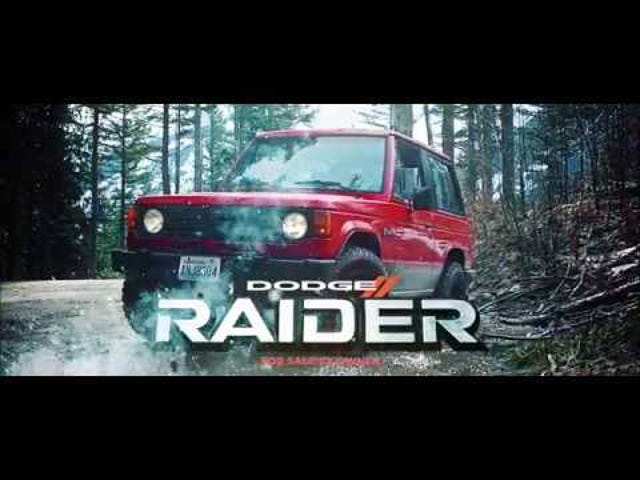 Anyone in the market for a Dodge Raider?