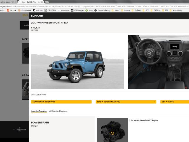 Build a Jeep!