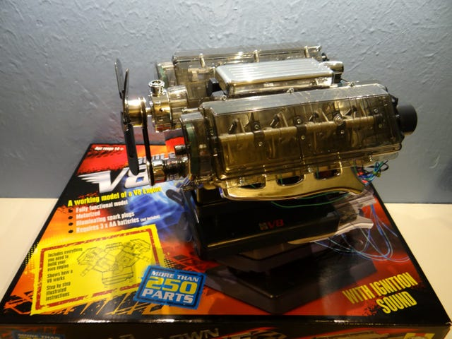 Haynes Visible V8 Engine Review with Video