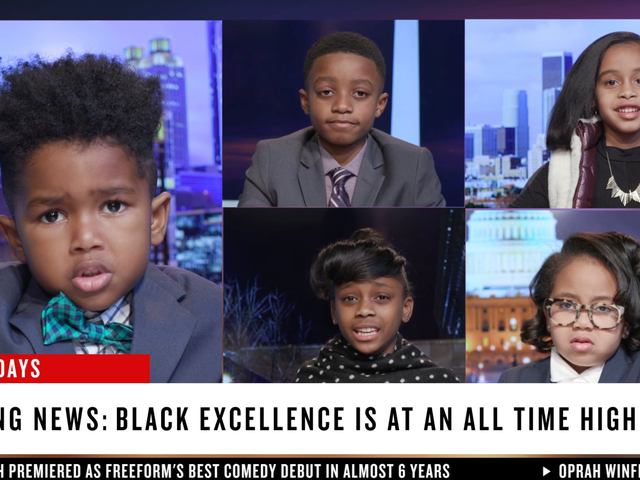 Watch These Adorable Kids Spoof CNN to Celebrate Black Excellence