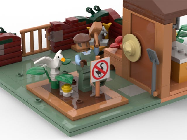 Untitled Goose Game Could Get An Official Lego Set