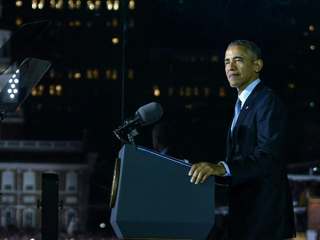 Le président Obama appelle le président élu Trump à prolonger l'invitation à la Maison-Blanche