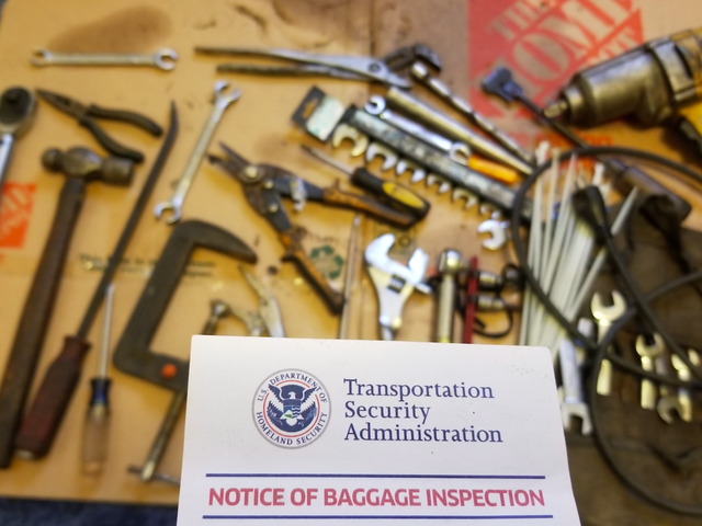 What It Was Like Traveling On An Airplane With 120 Pounds Of Car Parts And Tools