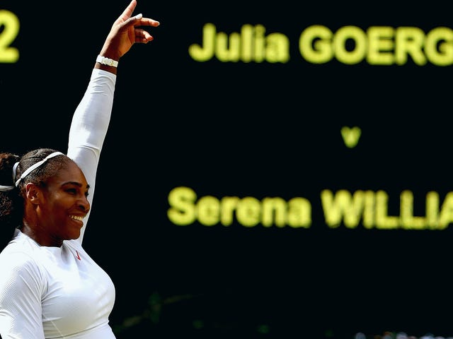 Serena Williams Is Into The Wimbledon Final, Now Let's Get This Over With