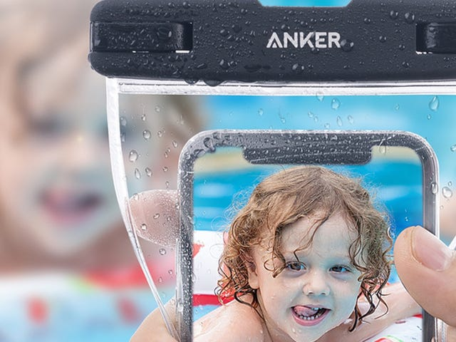 Keep Your Phones Safe From Surf and Sand With These Anker Dry Bags, Just $7 For Two