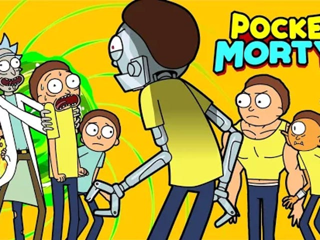 Pocket Mortys Sees An Early Release