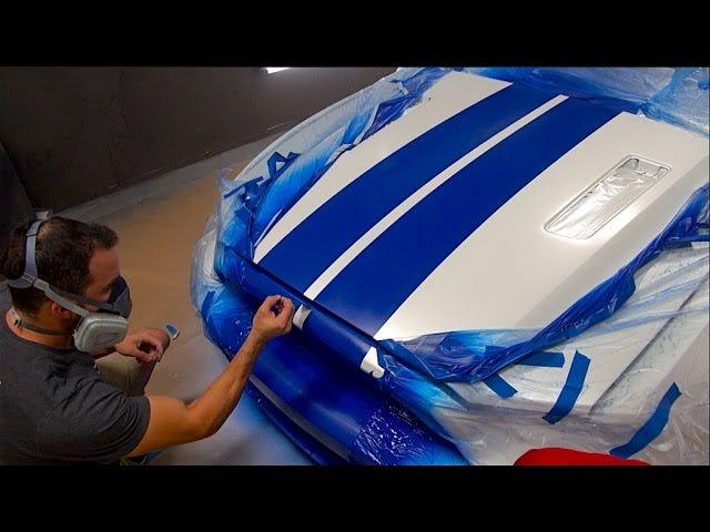 Νιώστε τη βαθιά ικανοποίηση της ζωγραφικής Perfect Racing Stripes