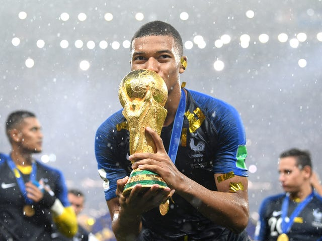 19-Year-Old French Phenom Kylian Mbappé Will Donate Entire World Cup Winnings to Children's Charity