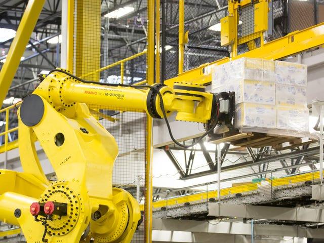 Amazon проводит конкурс роботов, чтобы найти новых сотрудников