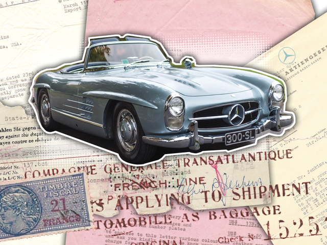 This Is How You Bought A 300SL Roadster In 1957