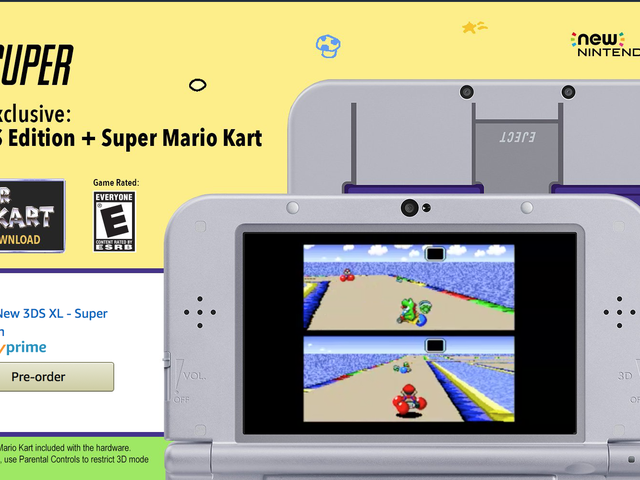 Save $50 On Nintendo's SNES-Themed 3DS XL