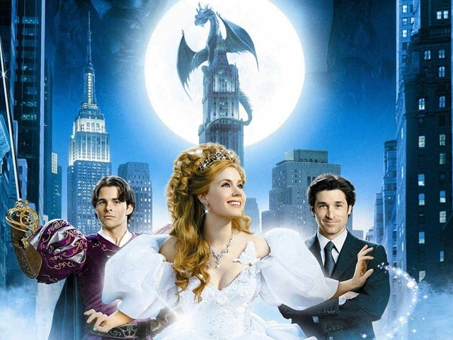 Disney's Enchanted Sequel Is Finally on Its Way and I Couldn't be More Excited