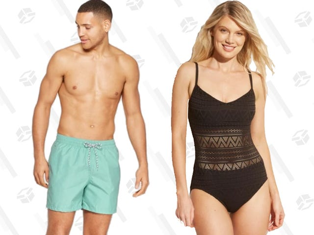 The Deals Are Off the Deep End at Target's BOGO 50% Off Swimsuit Sale