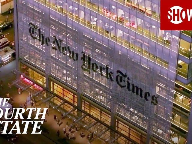 <i>The Fourth Estate</i> è uno sguardo cruciale su come il <i>New York Times</i> copre Trump