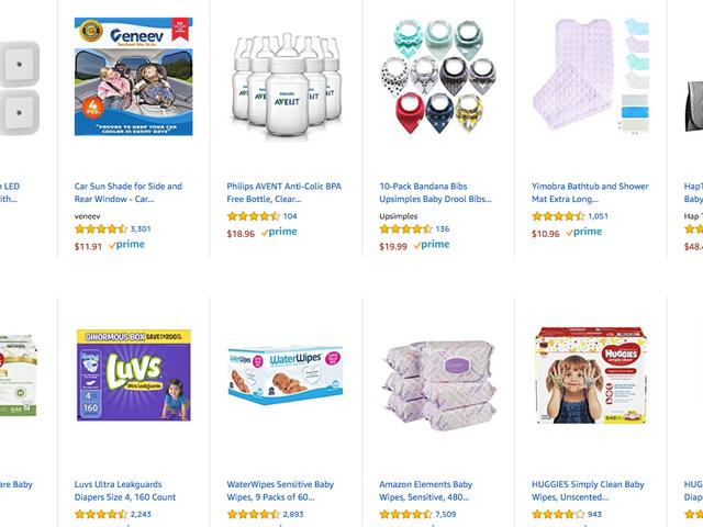 Amazon sendte feilaktig ut Baby Registry Emails