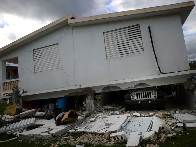 Lebih Kerosakan ke Puerto Rico sebagai Magnitud 5.9 Batu Gempa Pulau Sabtu Pagi