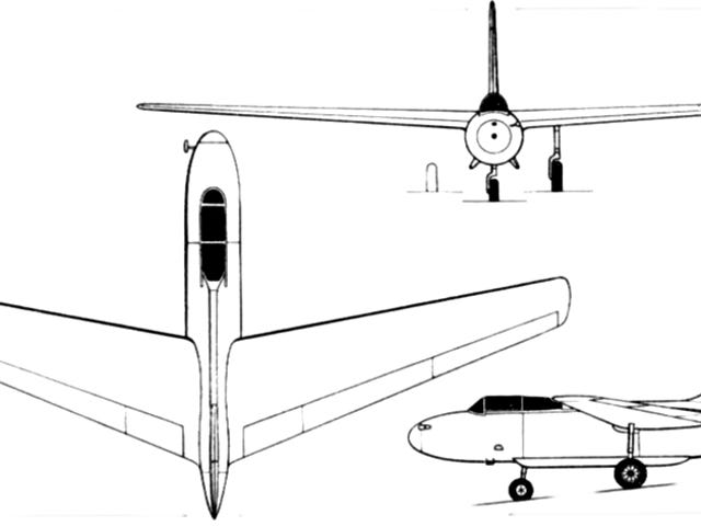 ✈ WINGSPAN ✈ O Cornelius XFG-1: O tanque de combustível voador