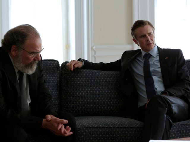 All the worst people are in charge as Homeland readies for war