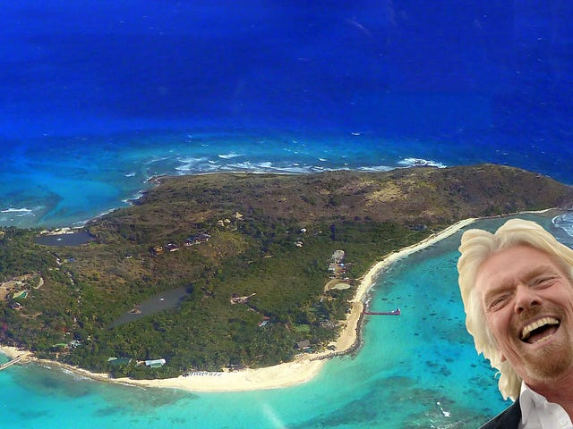 Richard Branson Is Having a Weird Sleepover With 'Young People' During Hurricane Irma