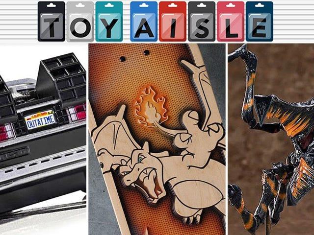 Små DeLoreans, Big Bugs och Ytterligare en Baby Yoda är bland veckans bästa leksaker