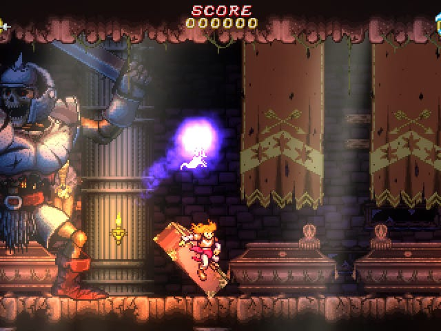 """Battle Princess Madelyn is a Ghouls 'n' Ghosts-inspired action-platformer whose """"honorary assistant"""