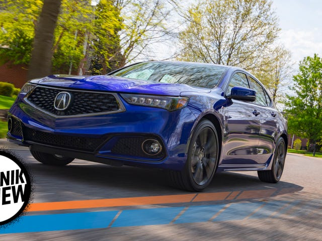 The 2018 Acura TLX A-Spec Is A Sport Sedan Without The 'Sport'