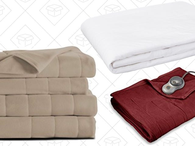 Warm Up With This One-Day Sale on Heated Bedding