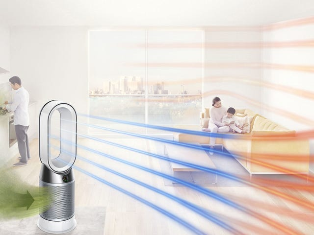 The Robot Uprising Might Start With Dyson's Crazy-Smart Air Purifying Space Heater