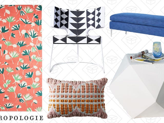 Anthropologie Is Taking 20% Off Some Of Their Outdoor Furniture