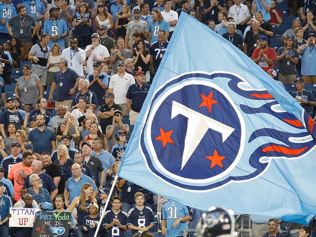 Titans Fan Hospitalized After Falling Through An Awning While Reaching For T-Shirt