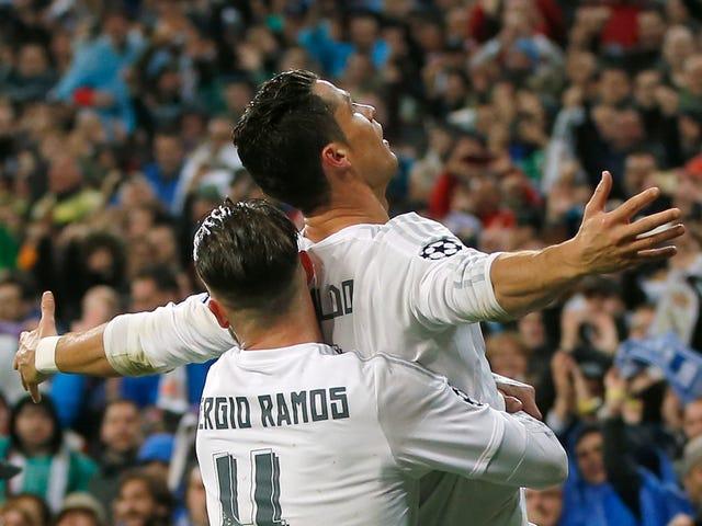 Cristiano Ronaldo foi ótimo hoje, assim como ele sabia que seria